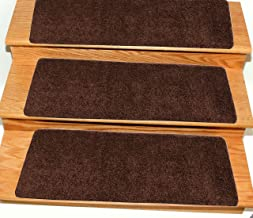 brown stair runner