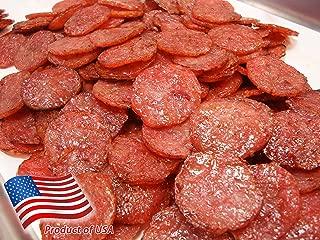 Made to Order Fire-Grilled Asian Minced Pork Jerky (Original Flavor - Medallion Shaped - 12 Ounce) aka Singapore Bak Kwa - Los Angeles Times