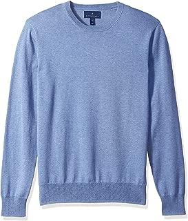 Amazon Brand - BUTTONED DOWN Men's Supima Cotton Lightweight Crewneck Sweater
