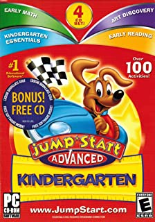 Jump Start Advanced Kindergarten 3.0 plus Bonus CD-ROM