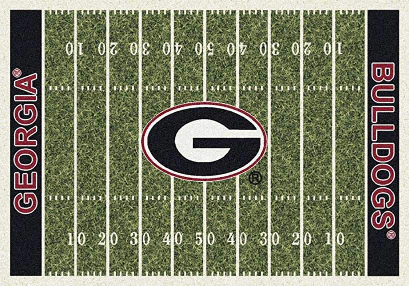 Georgia College Home Football Field Rug: 78