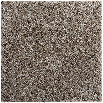 """Seamless Appearance Peel and Stick Made in USA 10 Tiles - 22.5 Sq Ft, 760 Gemstone Smart Squares Walk in The Park 18/"""" x 18/"""" Residential Soft Carpet Tiles Easy DIY Installation"""
