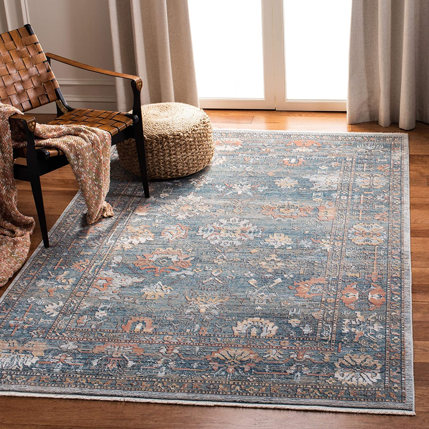 Safavieh Victoria Collection VIC905M Our shop most popular Vintage Distres Nippon regular agency Traditional