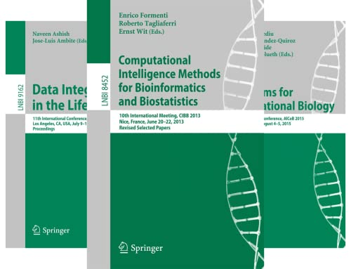 Lecture Notes in Bioinformatics (50 Book Series)