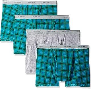 Fruit of the Loom Men's Color Short Leg Boxer Brief