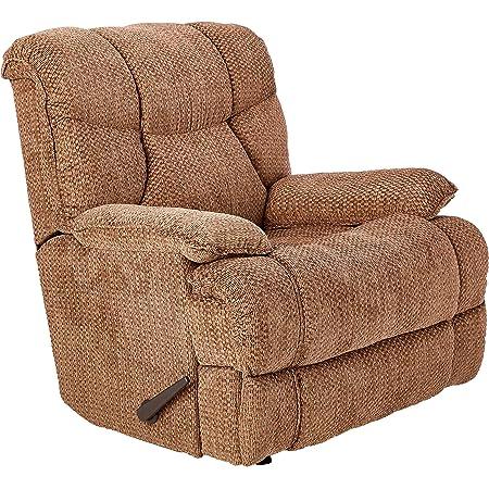 Amazon Com Lane Home Furnishings 4215 19 Bruno Chocolate Rocker Recliner Medium Furniture Decor