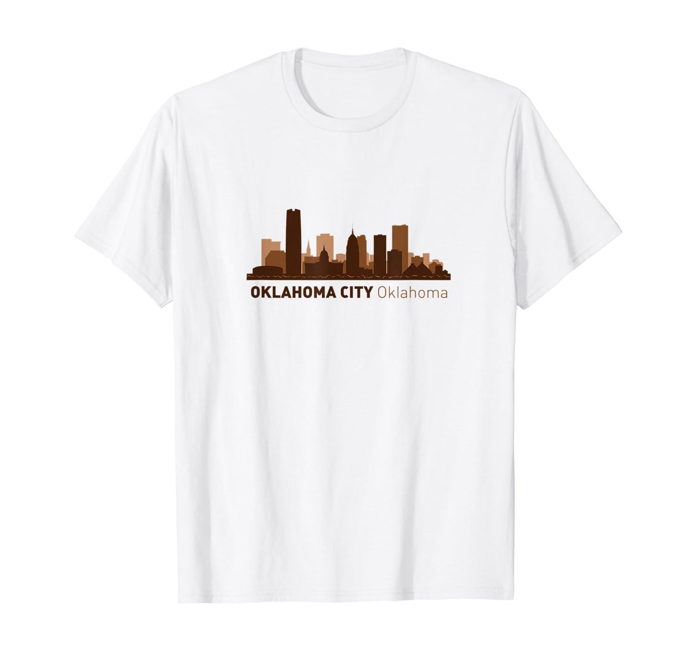 Oklahoma City, OK City Skyline | Oklahoma Hometown T-shirt