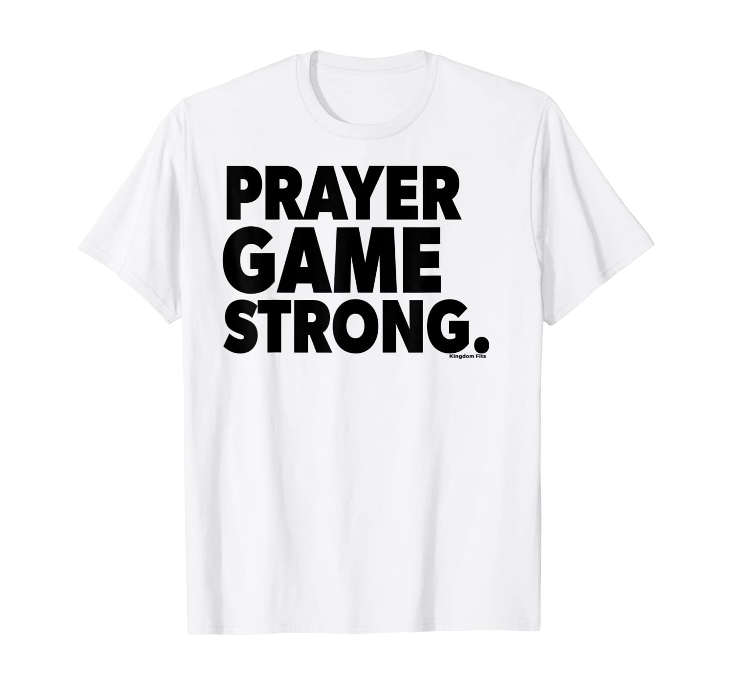 Amazon Com Prayer Game Strong Godly Graphic T Shirt Clothing Will you be good or evil? amazon com