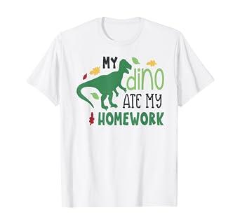 Get My Dinosaur Ate My Homework SVG
