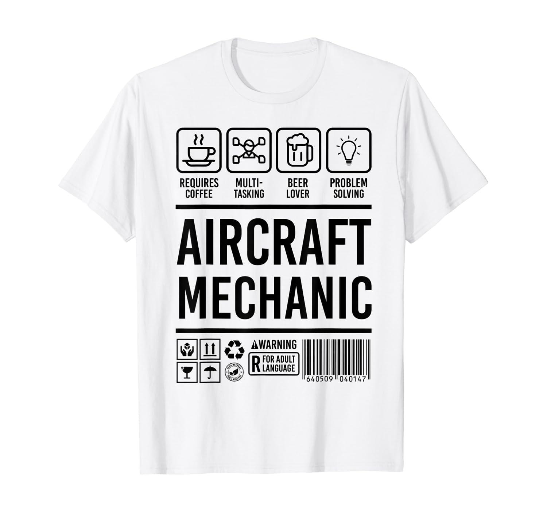 Aircraft Mechanic Cute Aircraft Work Gift T-shirt 1