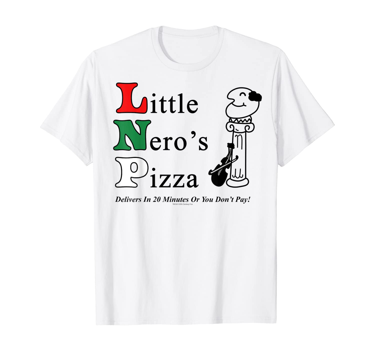 Home Alone Little Nero's Pizza Logo T-Shirt