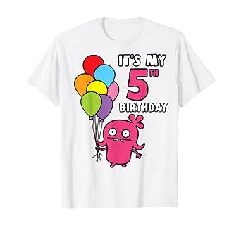 Amazon.com: UglyDolls Camisa de 5 cumpleaños Moxy cumpleaños ...
