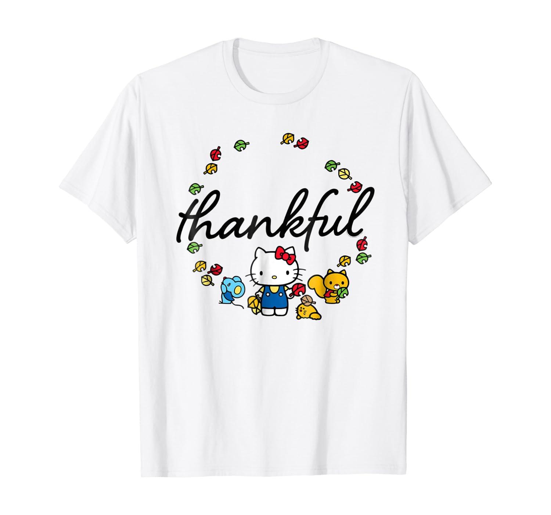 Amazon Com Hello Kitty Thanksgiving Tee Shirt Clothing
