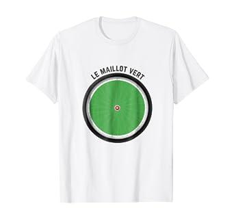 Amazon.com: Le Maillot Vert Tour France T-