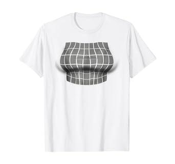 Big Boob Optical Illusion T-Shirt