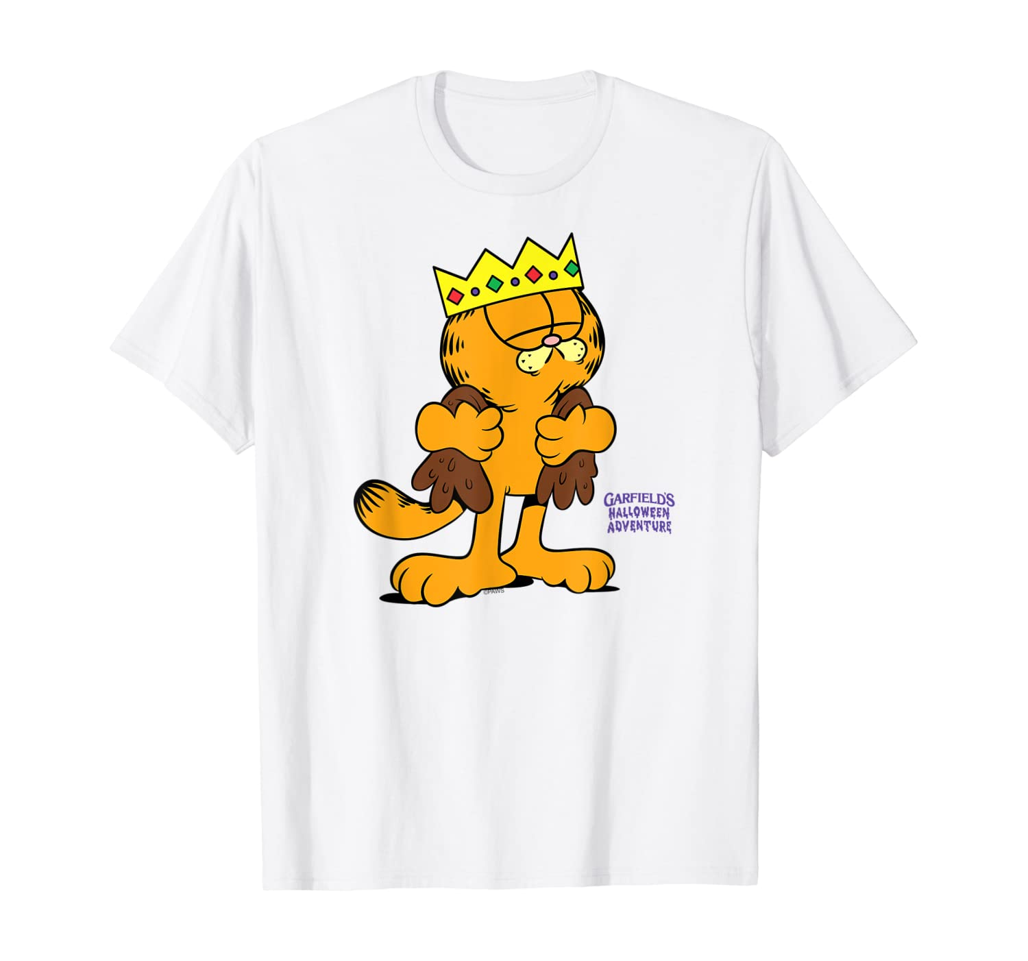 Amazon Com Garfield King Costume Clothing