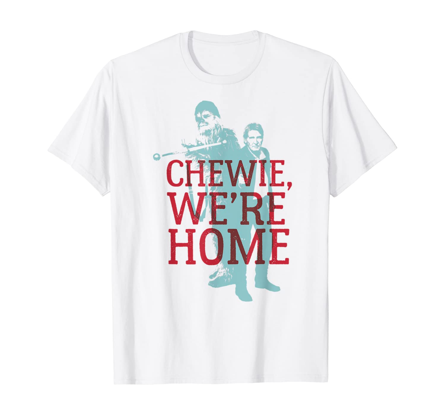 Star Wars Han Solo Chewie We're Home Graphic T-Shirt