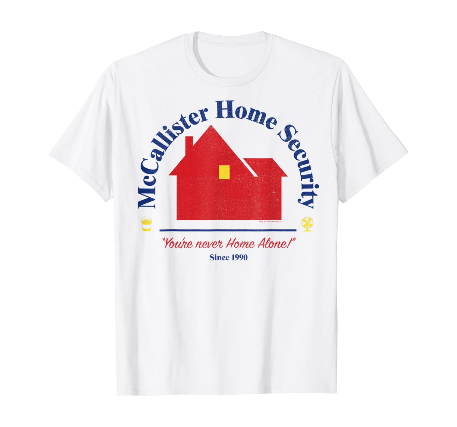 Home Alone McCallister Home Security Logo T-Shirt