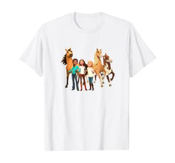 DreamWorks Girls Spirit Riding Free T-Shirt