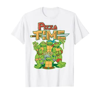 Tops Teenage Mutant Ninja Turtles Personalised T-shirts Any Name TMNT Gifts
