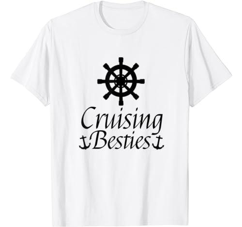 Cruising Besties Cruise Vacation Shirt Family Vacation T Shirt