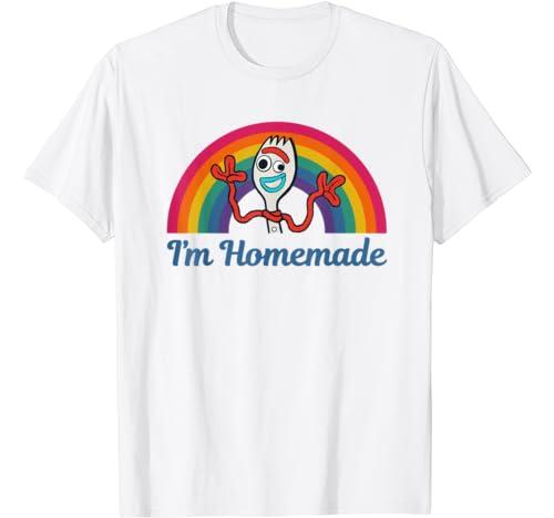 Disney Pixar Toy Story Forky I'm Homemade Rainbow T Shirt