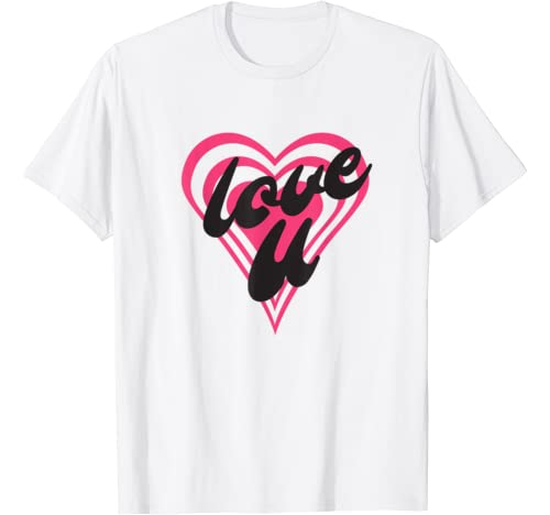 Multi Heart Combo Love You Valentines Day His And Hers T Shirt