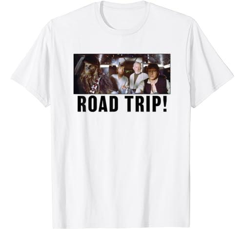 Star Wars Group Shot Road Trip T Shirt