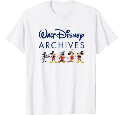 Walt Disney Archives Mickey Mouse T Shirt