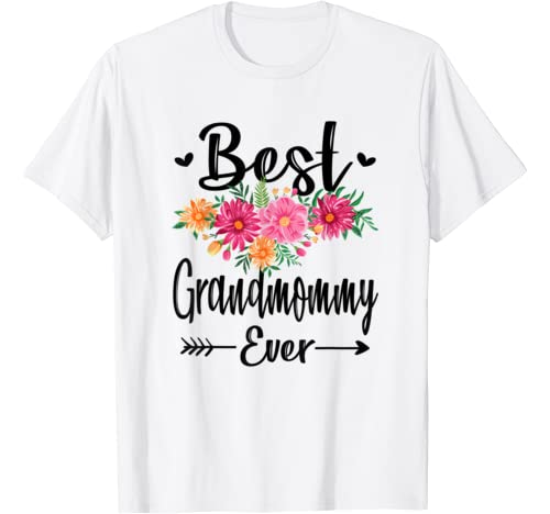 Best Grandmommy Ever Mother's Day Gift Grandma Shirt T Shirt
