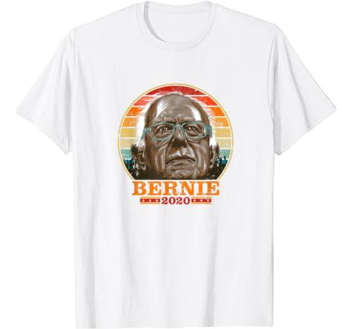 Bernie 2020   Bernie Sanders Retro Vintage Distressed Colors T Shirt