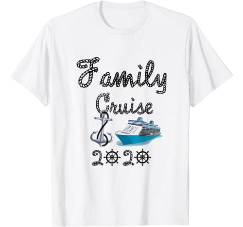 Funny Family Cruise 2021 Cruising Vacation Trip Apparel Gift T Shirt