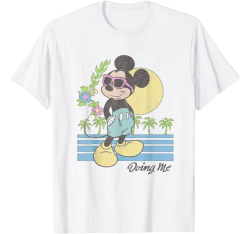 Disney Mickey And Friends Mickey Mouse Doing Me Sunset T Shirt