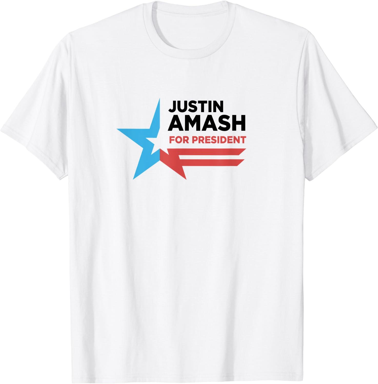 Amash for President campaign T-Shirt Justin Amash 2020
