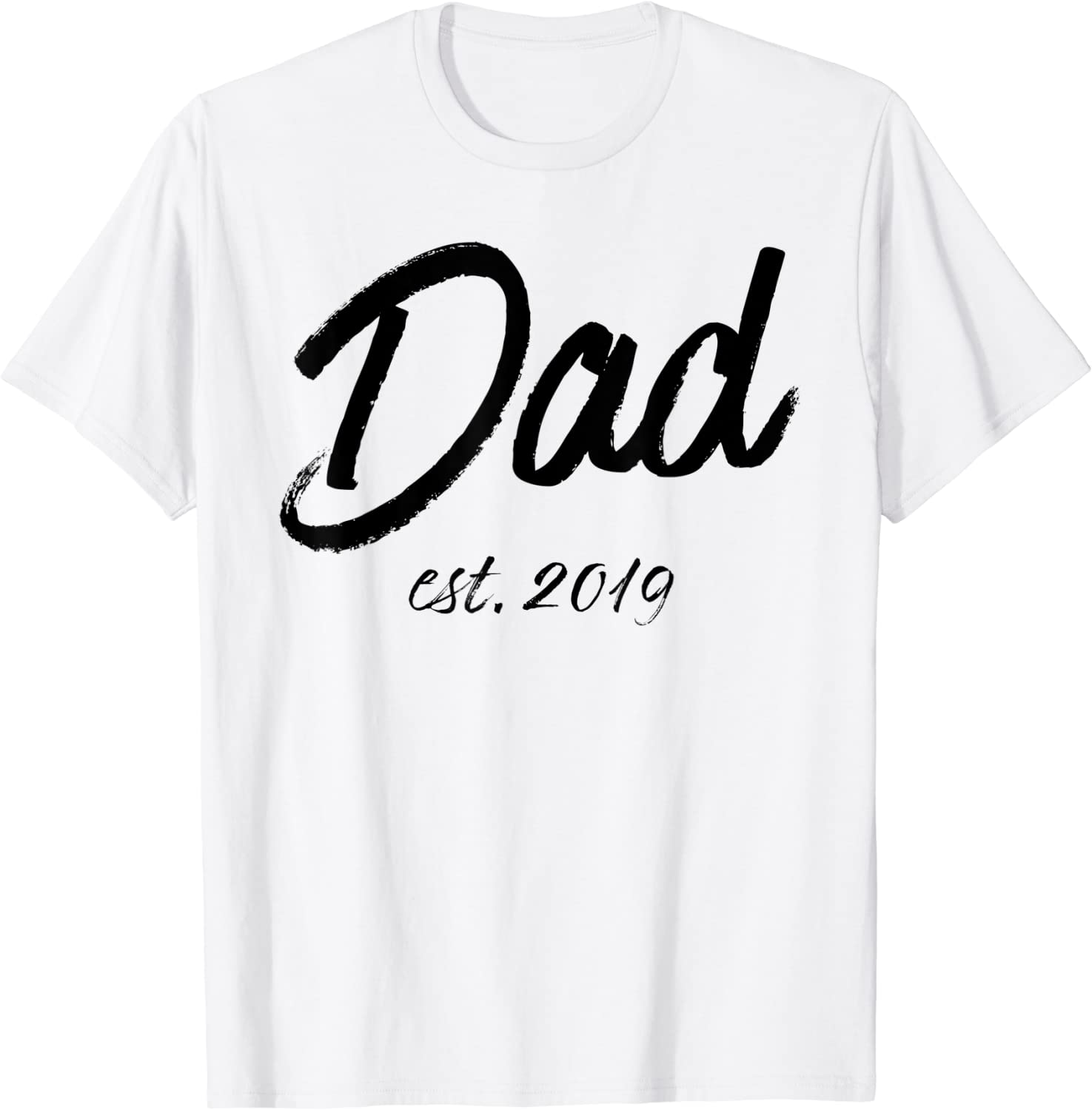 Dad In Training Tshirt Father/'s Day Gift Dad Established In Shirt Custom Shirts for Dad est Dad T-shirt