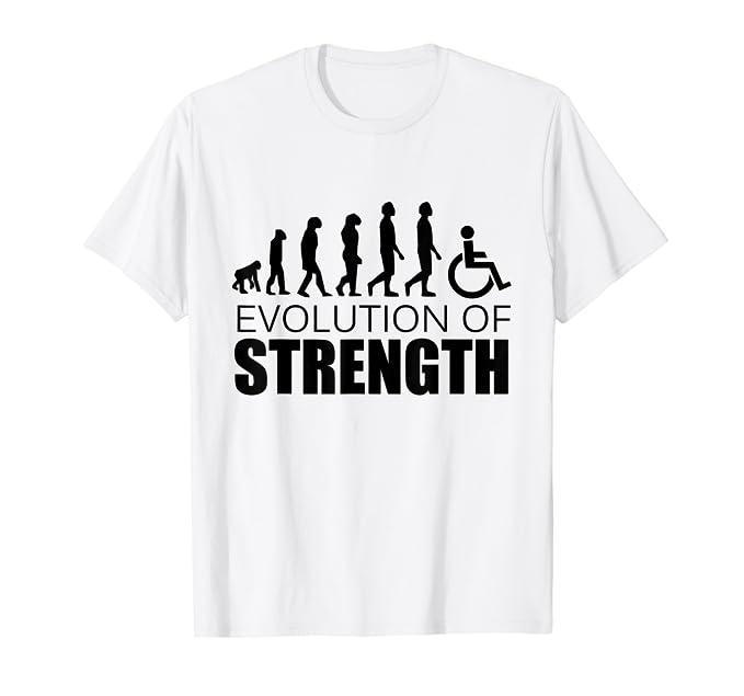 Evolution of Strength T-Shirt