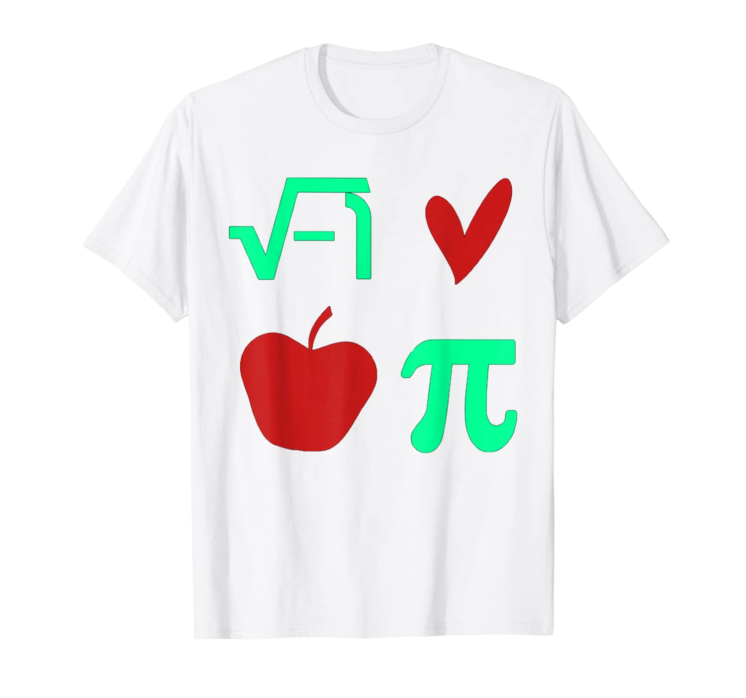Funny Math I Love Apple Pi or Pie Day Equation T-Shirt