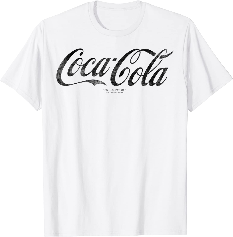 Coca-Cola Vintage Black Logo Graphic T-Shirt