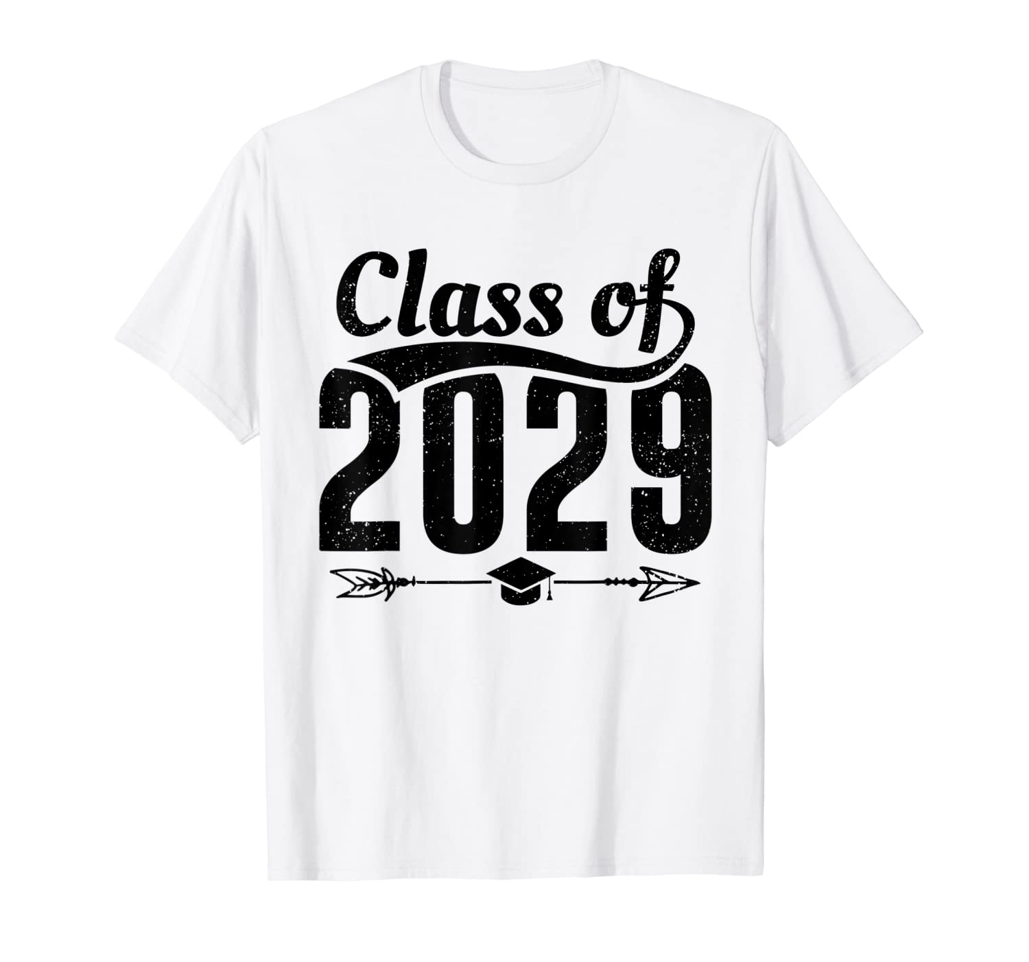Class of 2029 Shirt Grow With Me First Day School Graduation