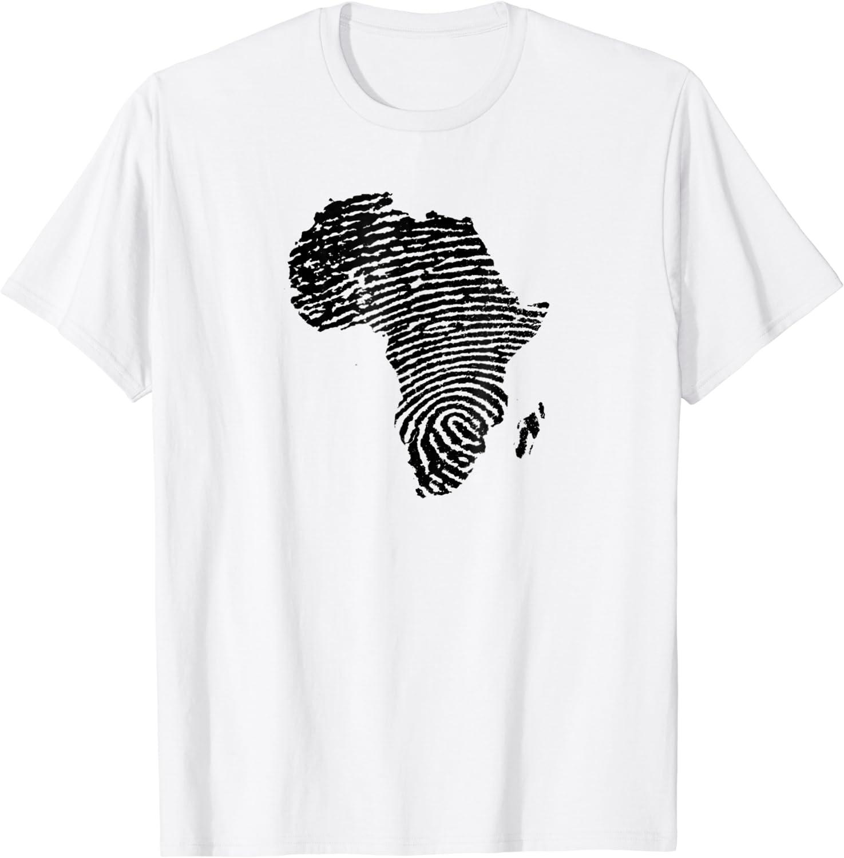 Africa Fingerprint Tshirt