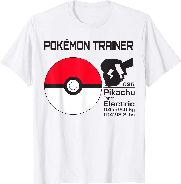 Pokemon Pokeball Trainer T-Shirt