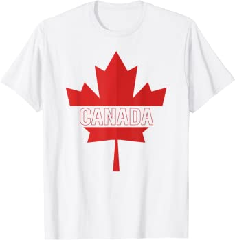 Canadian Pride Canadian Red Tshirt Maple Leaf Canada Day Kids T-Shirt On The Eh Team