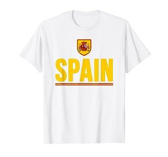 Amazon.com: España playera Bandera de España Espana Pride ...