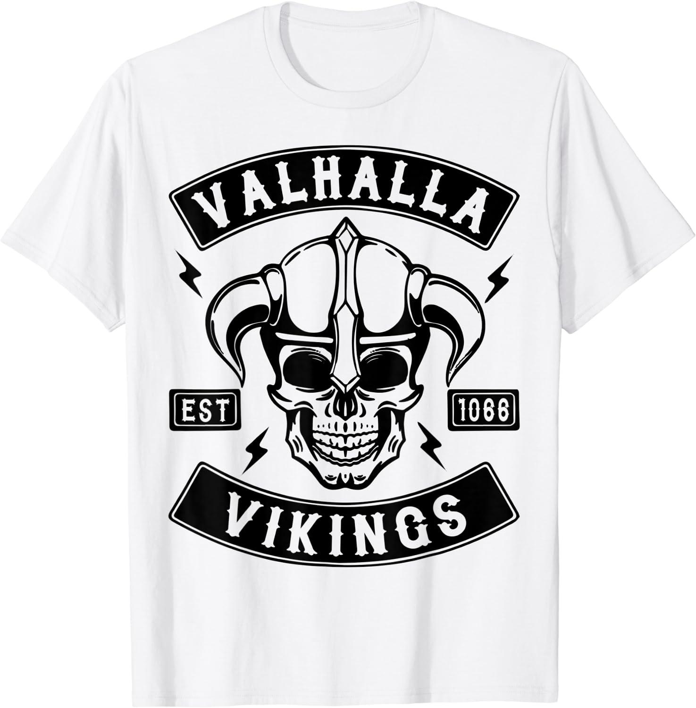 Viking Tête casquée T-shirt Femmes Runes Valhalla Odin Thor vikings vikings ODHIN Casque