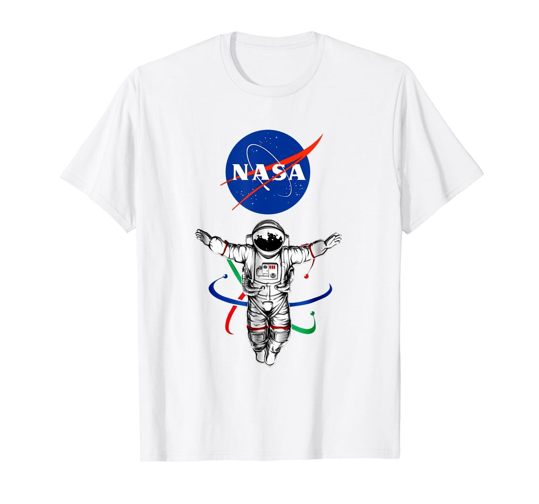 Amazon.com: Camiseta oficial de Astroanaut Atom NASA: Clothing