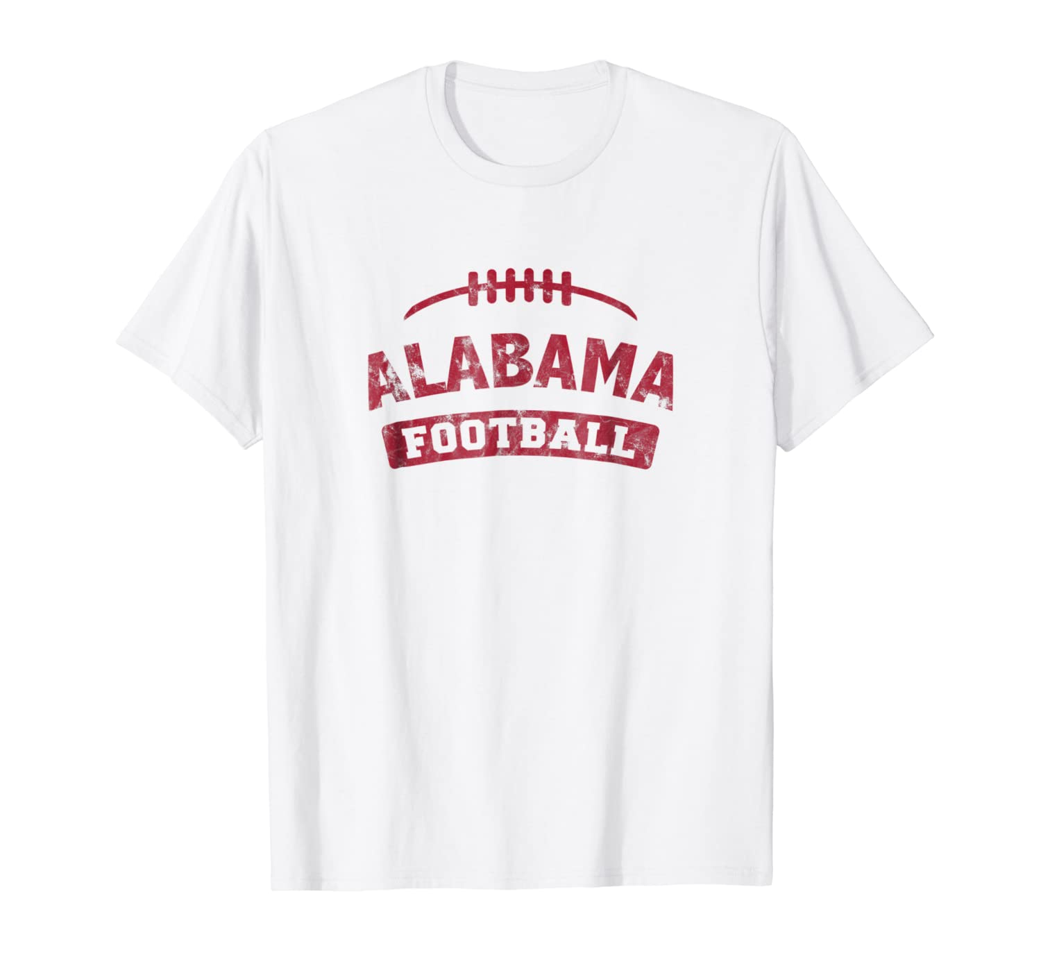 Alabama Football Distressed Vintage TShirt-TH
