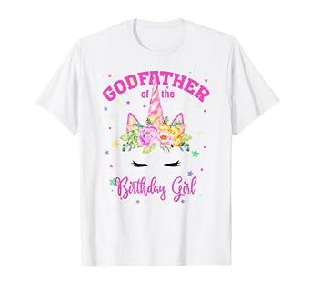 Amazon.com: ¡Padre de la niña de cumpleaños! Camiseta de ...