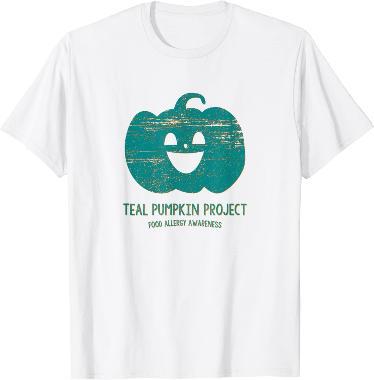 Teal Pumpkin Food Allergy Awareness Halloween Parent Project T-Shirt