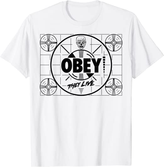 They Live Program Interrupted Obey Sudadera