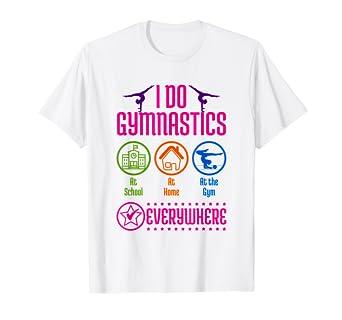 Amazon.com: Gimnasia camisas para niños – I do gimnasia en ...